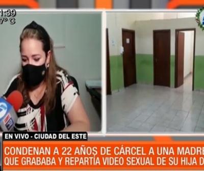 22 años de cárcel por filmar a su hija de 6 años siendo sometida sexualmente