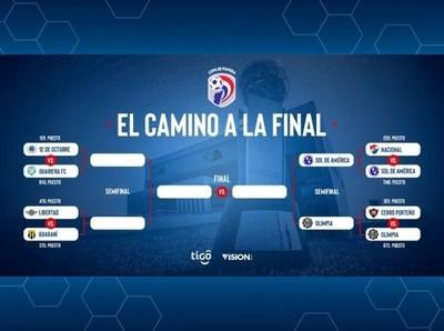La primera semifinal está definida