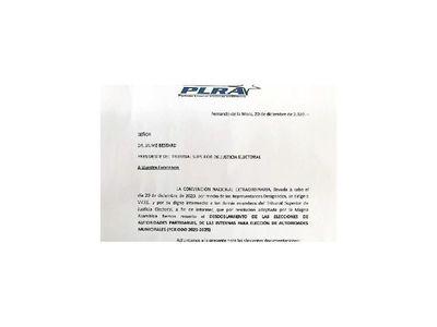 Remiten decisión de la convención al TSJE