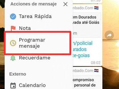 App para programar mensajes por Navidad en WhasApp