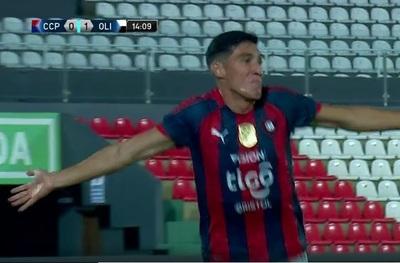 El gol de Enzo Giménez para el 1-1