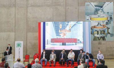Mario Abdo califica de histórica la puesta en marcha de Unidades Generadoras de Energía de Yacyretá