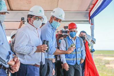 Presidente destaca obras energéticas y ratifica proceso de integración justa con Argentina