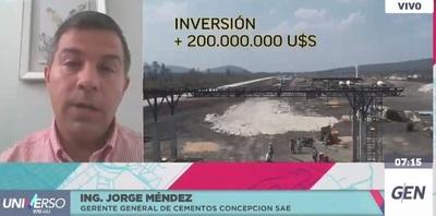 Gerente de Cecon: Con la cementera, las obras podrán proyectarse a largo plazo