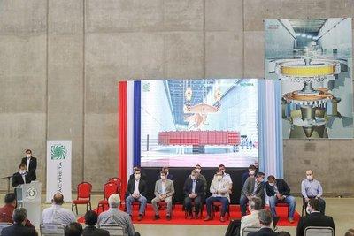 EBY pone en servicio dos unidades generadoras de energía y avanza en proyecto de maquinización de Aña Cuá