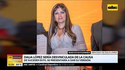 """Dalia López se presentaría """"solo si la desvinculan de la causa"""""""