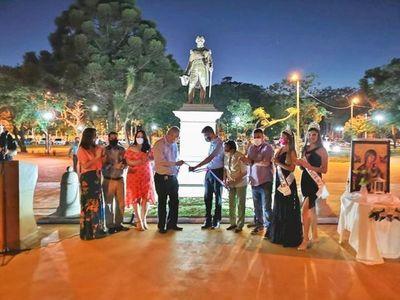 Reinaguran histórica plaza Capitán Pedro Juan Caballero con nuevo rostro para la ciudadanía