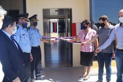 Habilitan nueva comisaría en Santa Rosa del Monday