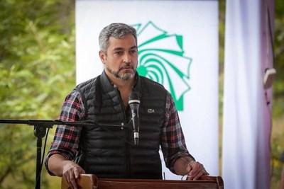 Mario Abdo Benítez estará hoy en Ayolas