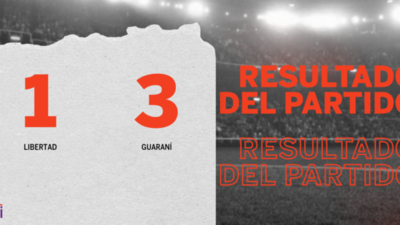 Guaraní goleó a Libertad en su casa por 3 a 1