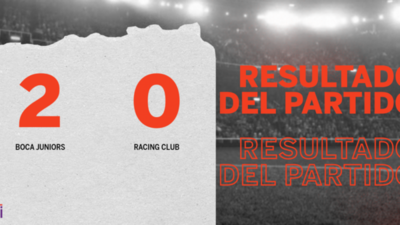 Boca Juniors marcó dos veces en la victoria ante Racing Club en la Bombonera