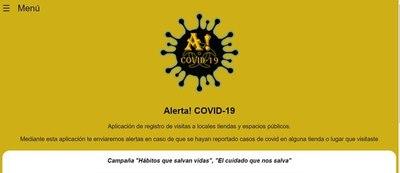 Alerta! Covid, nueva app notifica casos positivos de COVID-19