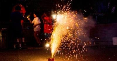 ¡Cuidado con los fuegos pirotécnicos!