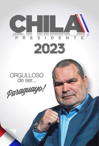 Chila se lanza a la Presidencia 2023