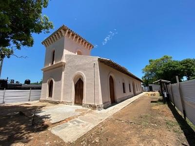 Culminan trabajos de restauración de la Estación de Tren en Pirayú