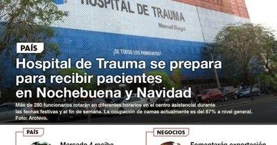 La Nación / LN PM: Las noticias más relevantes de la siesta del 24 de diciembre