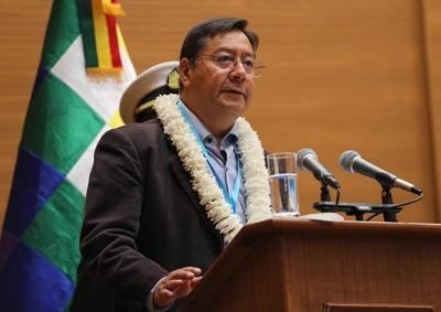 Arce anuncia el hallazgo de un nuevo campo de gas en el sureste de Bolivia