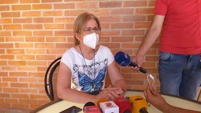 Beatriz Denis pide como regalo de cumpleaños y de Navidad la libertad de los secuestrados