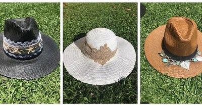 La Nación / Emprendedores LN: la moda glamorosa de los sombreros bordados vuelve para complementar tu outfit