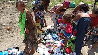 """El """"Hospital de los juguetes"""" llega a la comunidad nativa Mbya Guaraní de Villeta"""