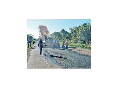 Obras viales en San Pedro registran un 80% de avances