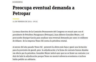 """El MIC confirma que tampoco sabía nada de """"golpe"""" secreto a Petropar"""