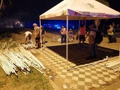 Incendio en la Chacarita es controlado y autoridades ahora buscan asistir a familias