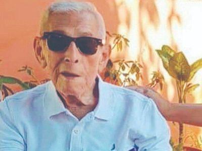 Con 98 años, venció al COVID y su secreto es no tomar alcohol