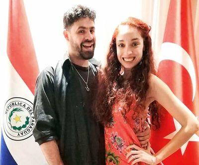 Dúo paraguayo en Turquía