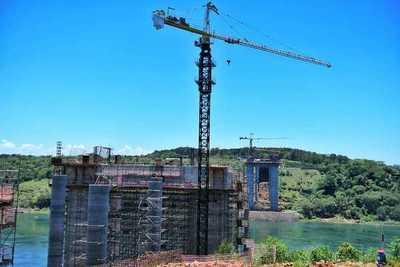 Obras del Puente de la integración cerrará el año con 50 % de avance