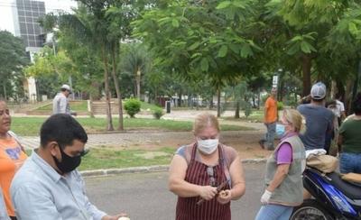 HOY / SEN informó que 96 familias fueron afectadas por el incendio en la Chacarita