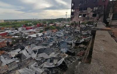 Bloque norte del Cabildo fue afectado por incendio en La Chacarita