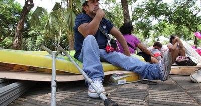 La Nación / El incendio en la Chacarita afectó a 105 familias