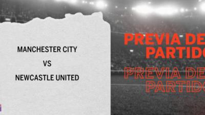 Por la Fecha 15 se enfrentarán Manchester City y Newcastle United