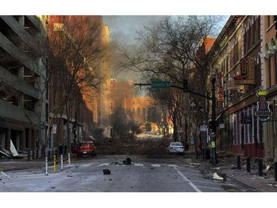 Coche bomba sacude Nashville, EEUU, y deja tres heridos