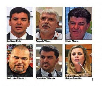 Tempranera carrera presidencial ya tiene seis candidatos para el 2023