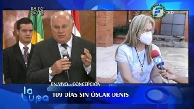 Familia Denis quiere conversar con Laura Villalba