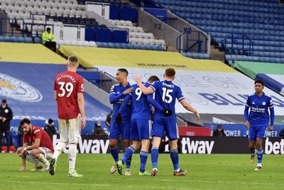 Leicester y Manchester United igualan en el 'Boxing Day'