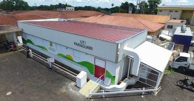 La Nación / Inauguración de la primera unidad de terapia intensiva de Paraguarí