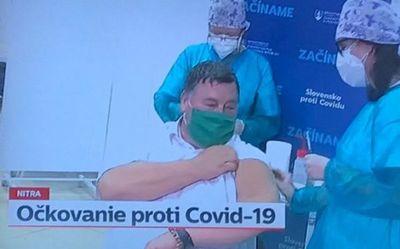 Eslovaquia también inicia la vacunación