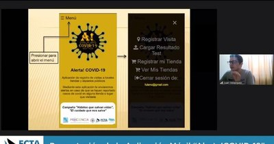 La Nación / Crean app que ayudará a notificar casos de covid-19