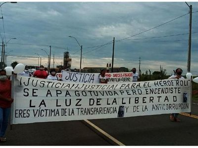 Pobladores de Maciel claman justicia por crimen de concejal