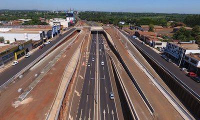 Obras del Multiviaducto de Ciudad del Este cierra el año con más de 80% de avance