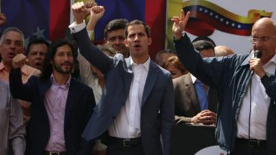 Asamblea Nacional de Venezuela prolongó mandato de Guaidó