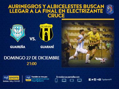 Guaireña y Guaraní, por el boleto a la final