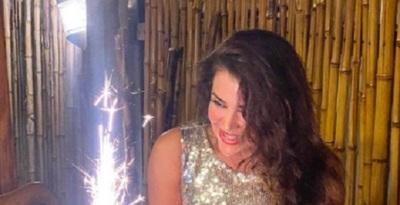 """Marly Figueredo afirma que celebró """"uno de los mejores cumpleaños"""" de su vida"""