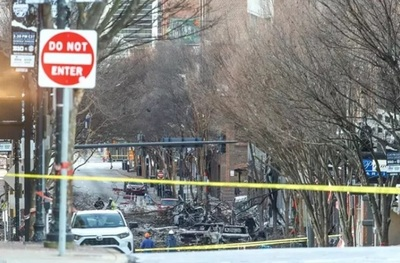 Presumen que explosión de Nashville pudo ser un acto suicida