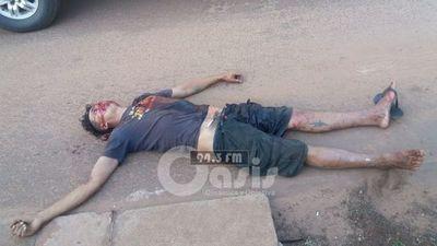 Adicto fue hallado muerto con un disparo en el pecho en Pedro Juan