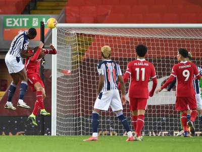 Liverpool cede una paridad ante West Bromwich