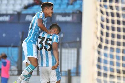 Melgarejo y Rojas disponen una contundente goleada para Racing